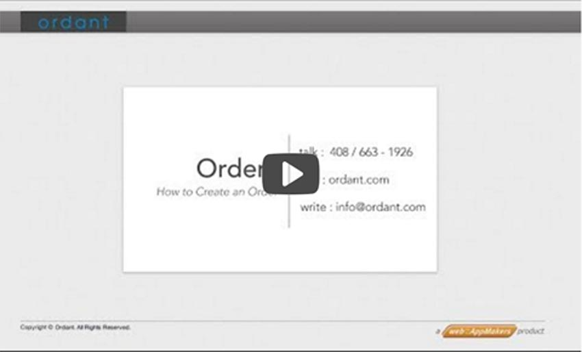 Order View